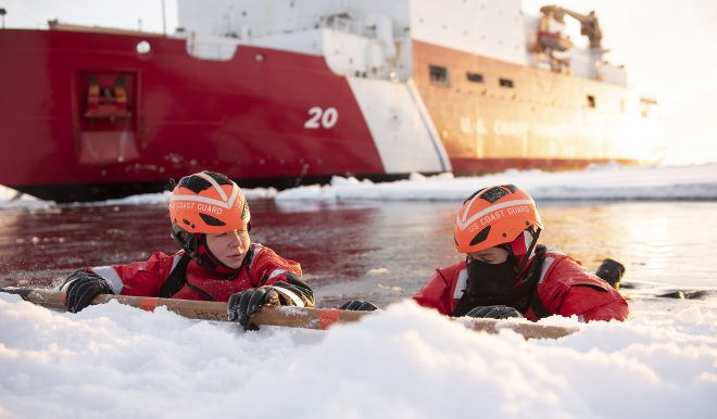 NORTHCOM Nominee Supports Building New U.S. Arctic Base for Icebreakers