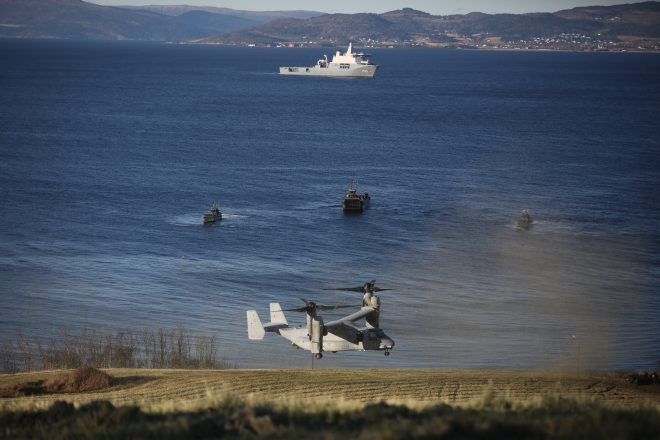Trident Juncture Wraps Up After Successful Amphibious Landings, Training Ashore in Norway