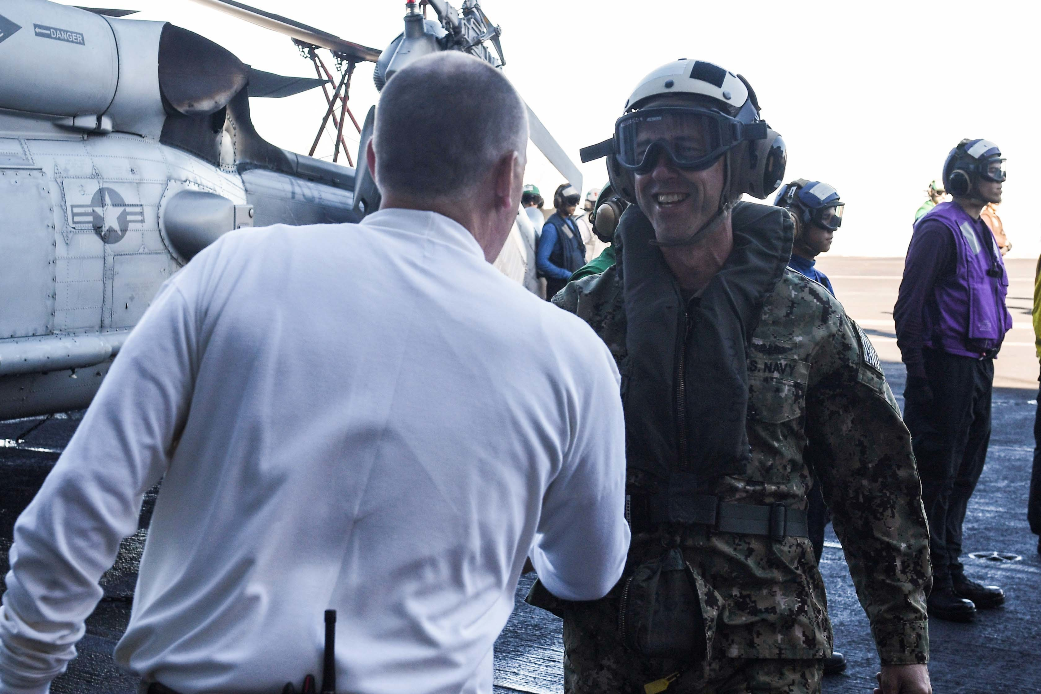 Navy Leaders Say 'Dynamic Force Employment' Proving