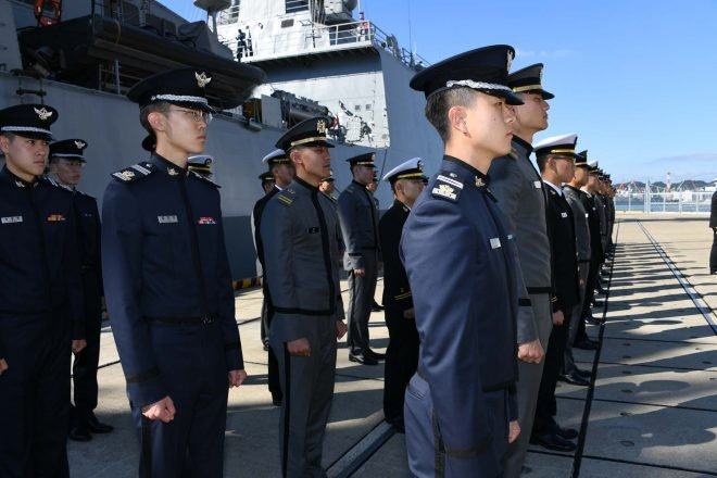South Korean Navy Brings 3 Ships, 600 Cadets in Rare Japanese Port Call