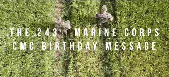 Marine Corps 2018 Birthday Messages from CMC Neller, SECNAV Spencer