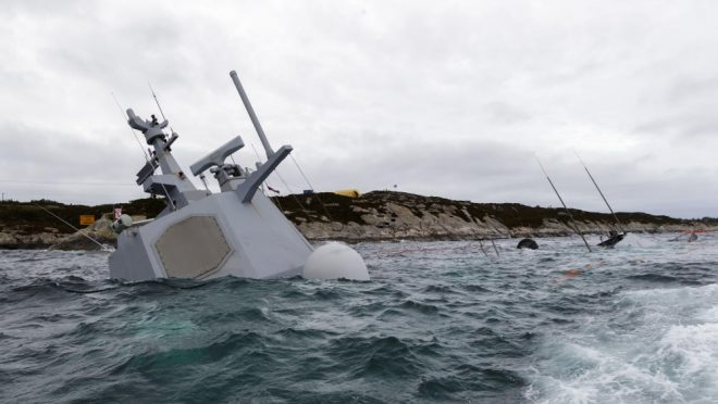 Norwegian Frigate Helge Ingstad Accident Report