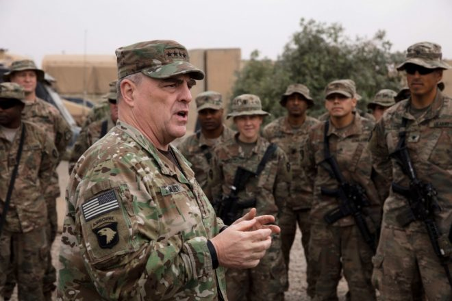 Army Chief of Staff Gen. Milley Selected To Be Next Chairman of Joint Chiefs