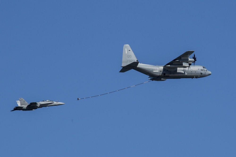 Image result for Marine KC-130J Hercules collision and crash