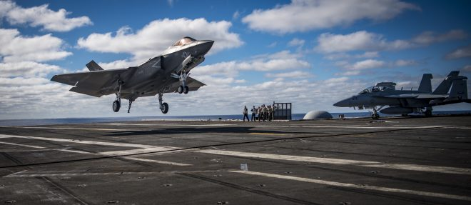 Navy Testing Battle Management Aid on Aircraft Carrier