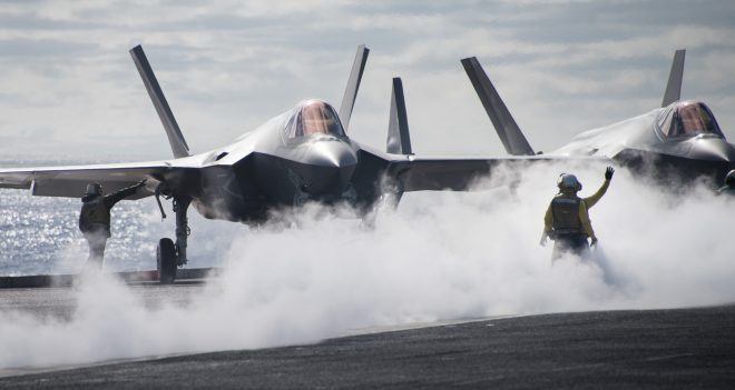 Nimitz and Ford Carriers Need Upgrades to Deploy With F-35Cs