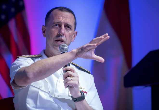 CNO Richardson Wants Aggressive Timelines for New Weapons, Operational Concepts in Updated Navy 'Design'