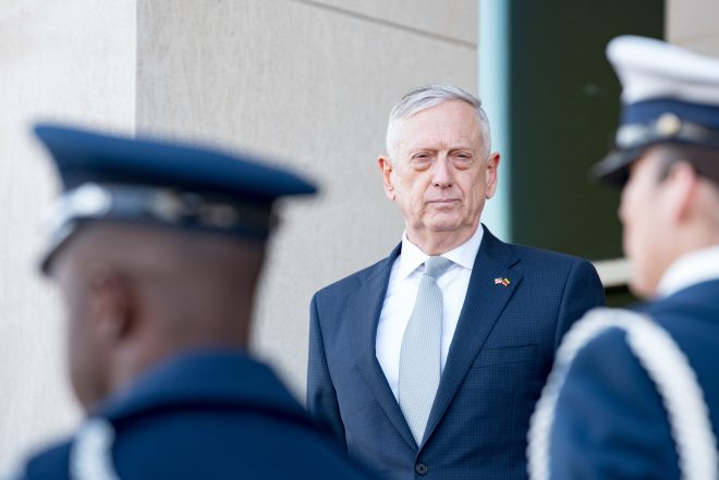 Trump: Mattis Will Step Down on Jan. 1; Shanahan to Serve as Acting SECDEF