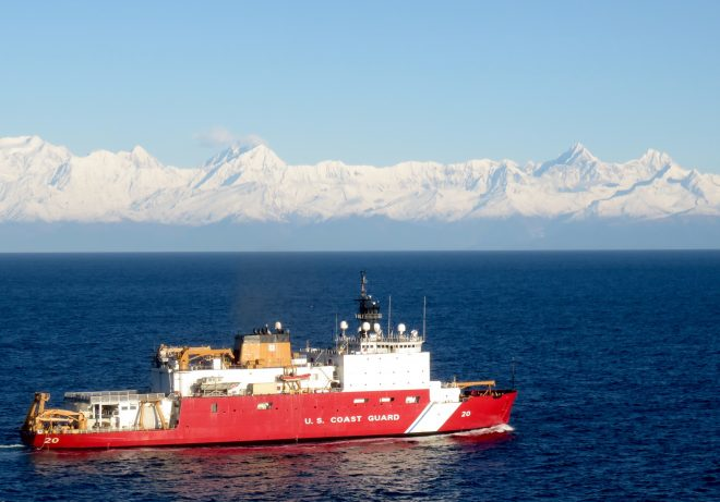 Government Shutdown Puts Coast Guard Heavy Icebreaker Program at Risk