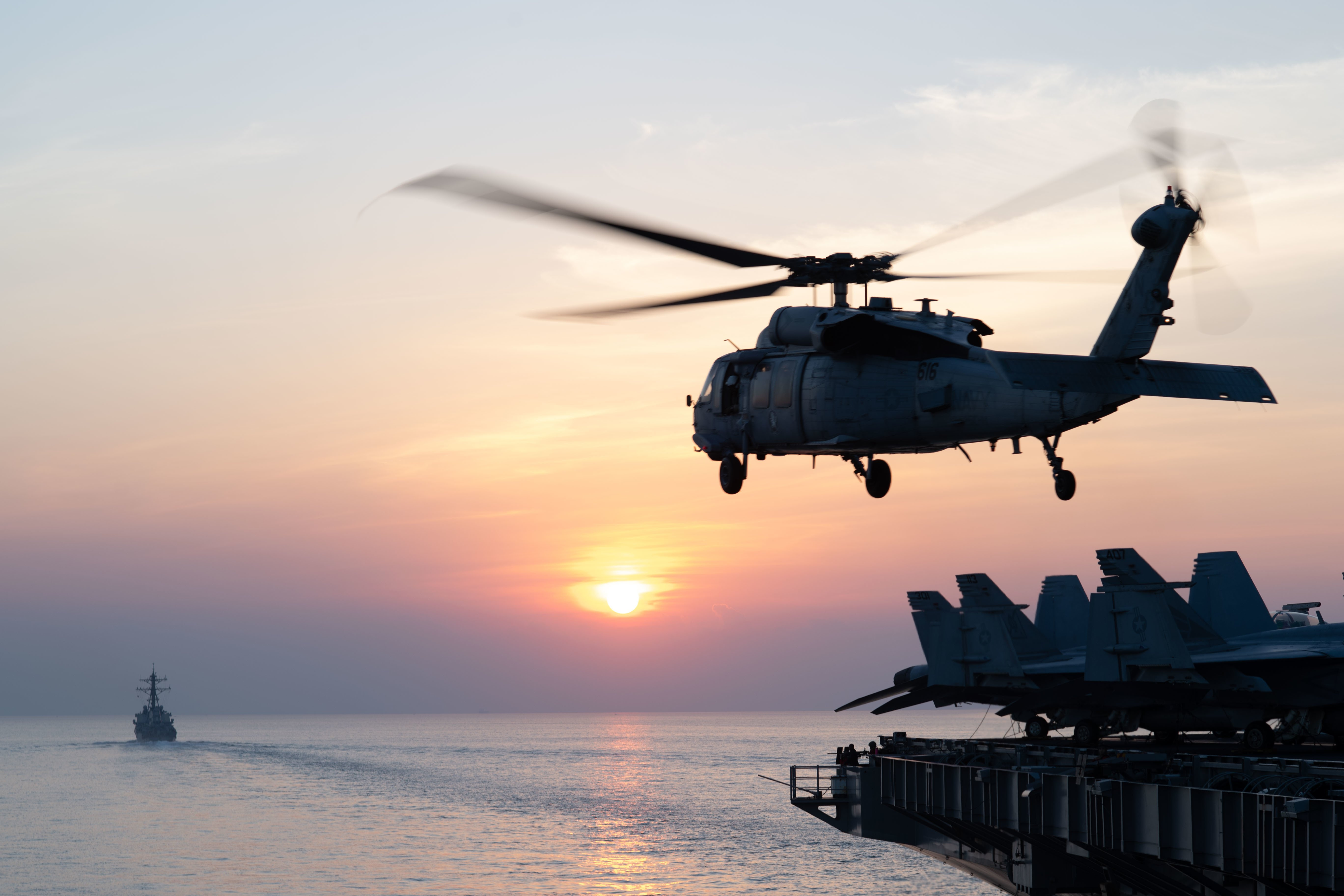After Two Months, Carrier USS John C. Stennis Returns to Persian Gulf