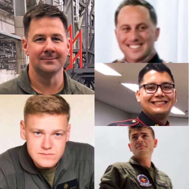 Marine Corps Identifies 5 Marines Killed in KC-130J Crash with Hornet Last Week
