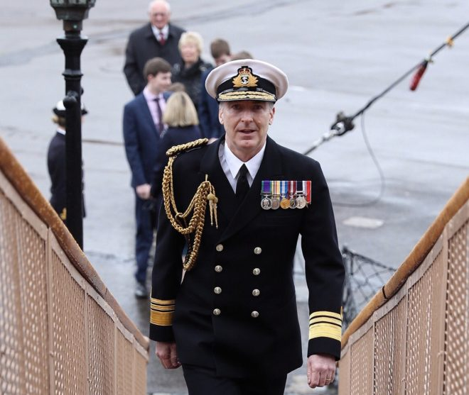 U.K. Selects Next Admiral to Lead Royal Navy