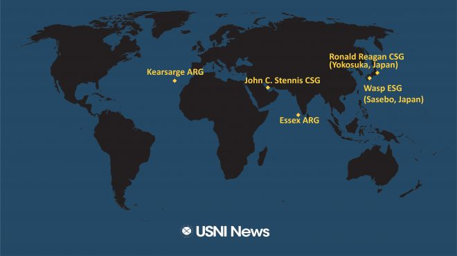 USNI News Fleet and Marine Tracker: Dec. 27, 2018