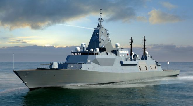 BAE Systems Starts Design Work on Hunter-class Australian Frigate