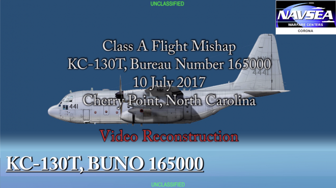 KC-130T Accident Report and Video Reconstruction