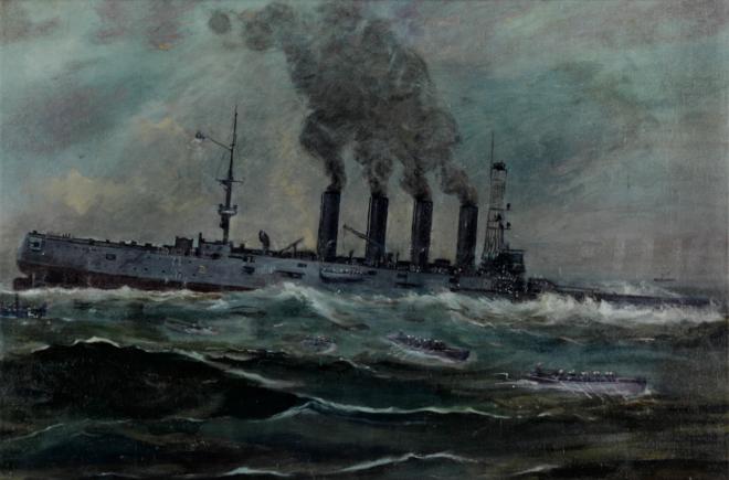 Investigation Confirms WWI Cruiser USS San Diego Was Sunk by U-boat Mine