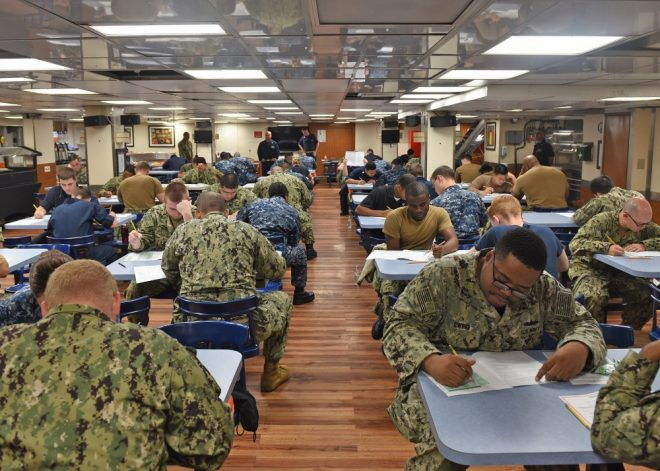 Navy Launches New Electronic Enlisted Advancement Worksheets