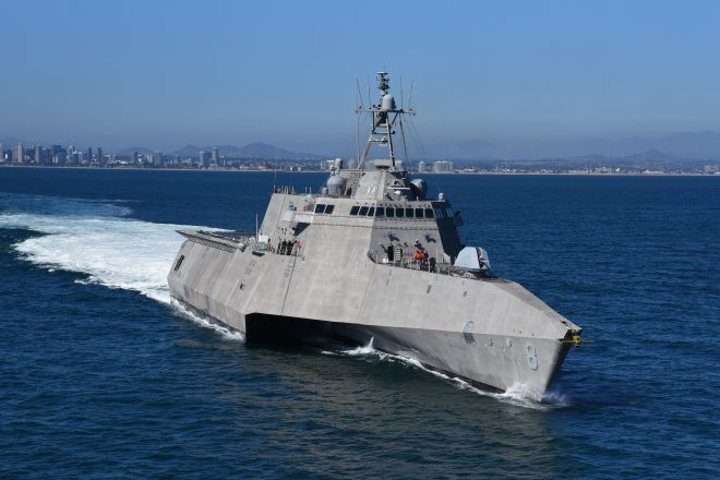 Littoral Combat Ship Deploys for First Time in 19 Months; USS Montgomery Left Unannounced in Early June