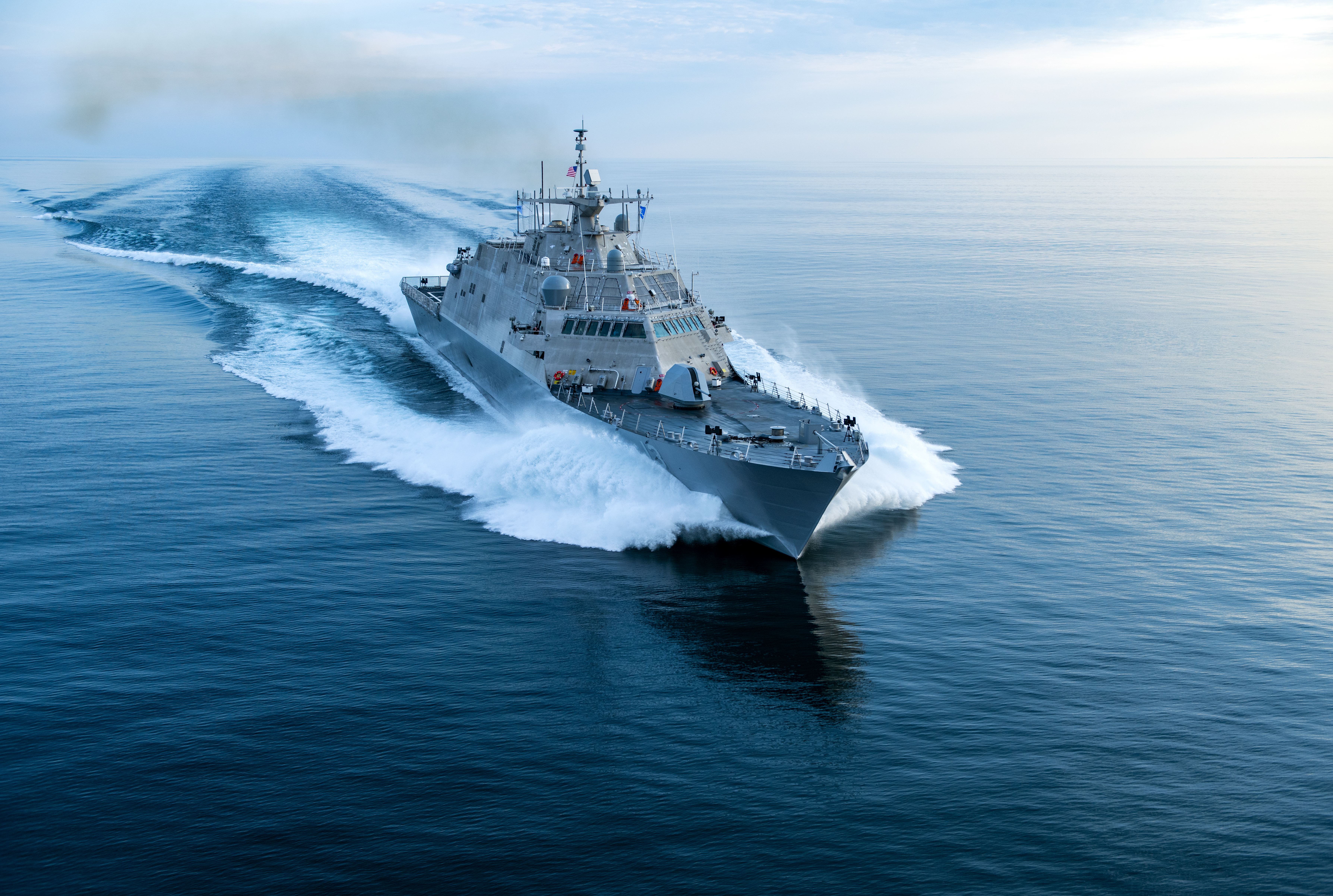 LCS Mission Package Office Focused On Test, Fielding