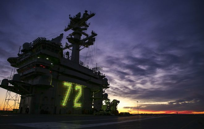 Abraham Lincoln Carrier Strike Group to Depart Norfolk on Monday