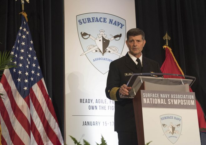 VCNO Moran: Navy Must Do More to Harness Data to Help Win Future Fights