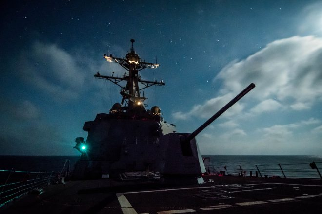 Navy Quietly Fires 20 Hyper Velocity Projectiles Through Destroyer's Deckgun