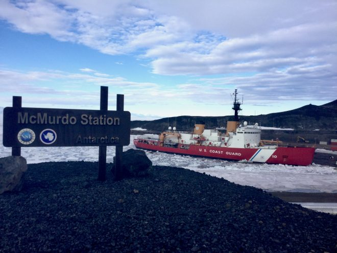 McMurdo Station Expansion Relies on Coast Guard Heavy Icebreaker