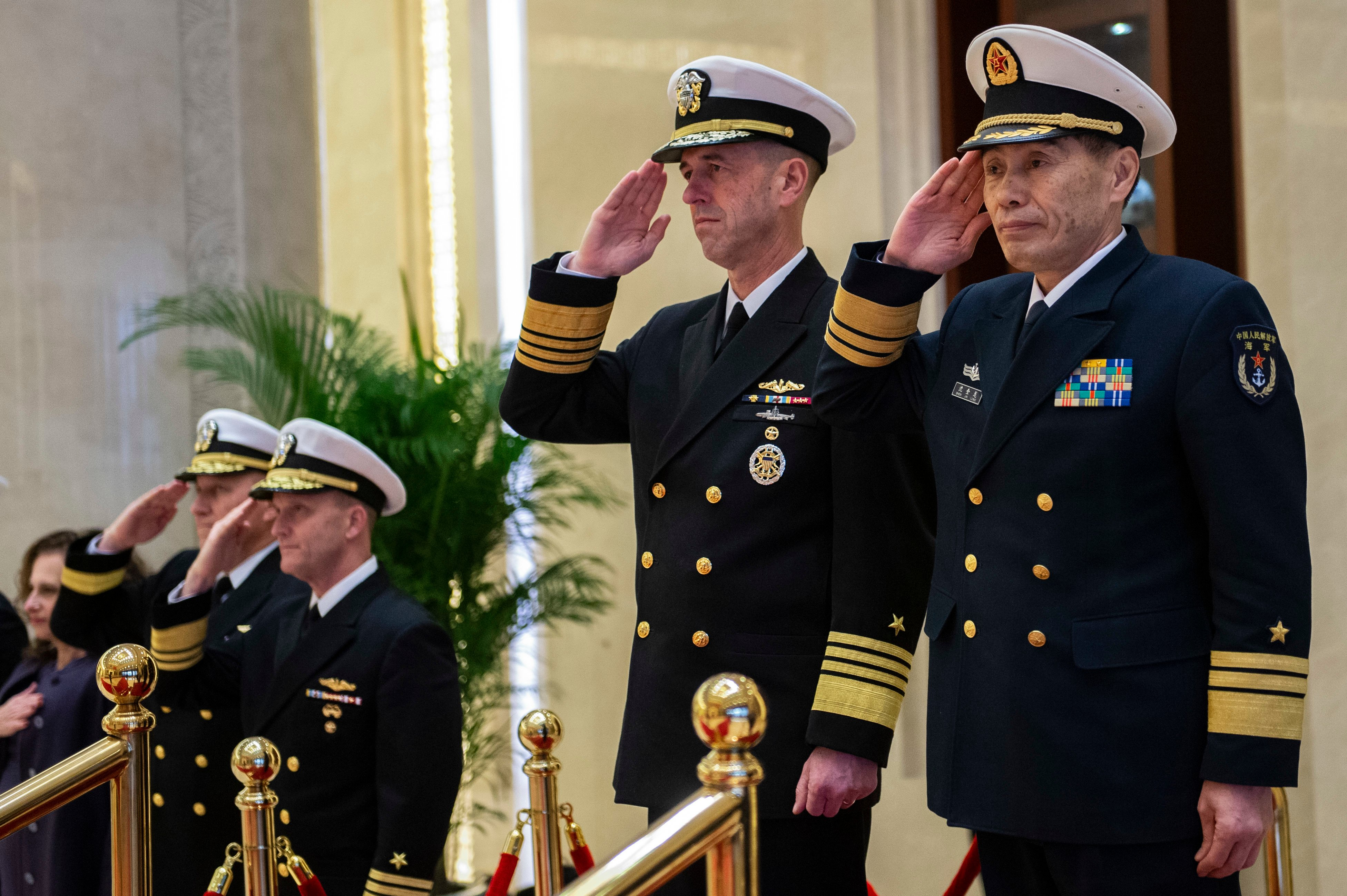 CNO: U S , Chinese Navies Improving Working Relationships