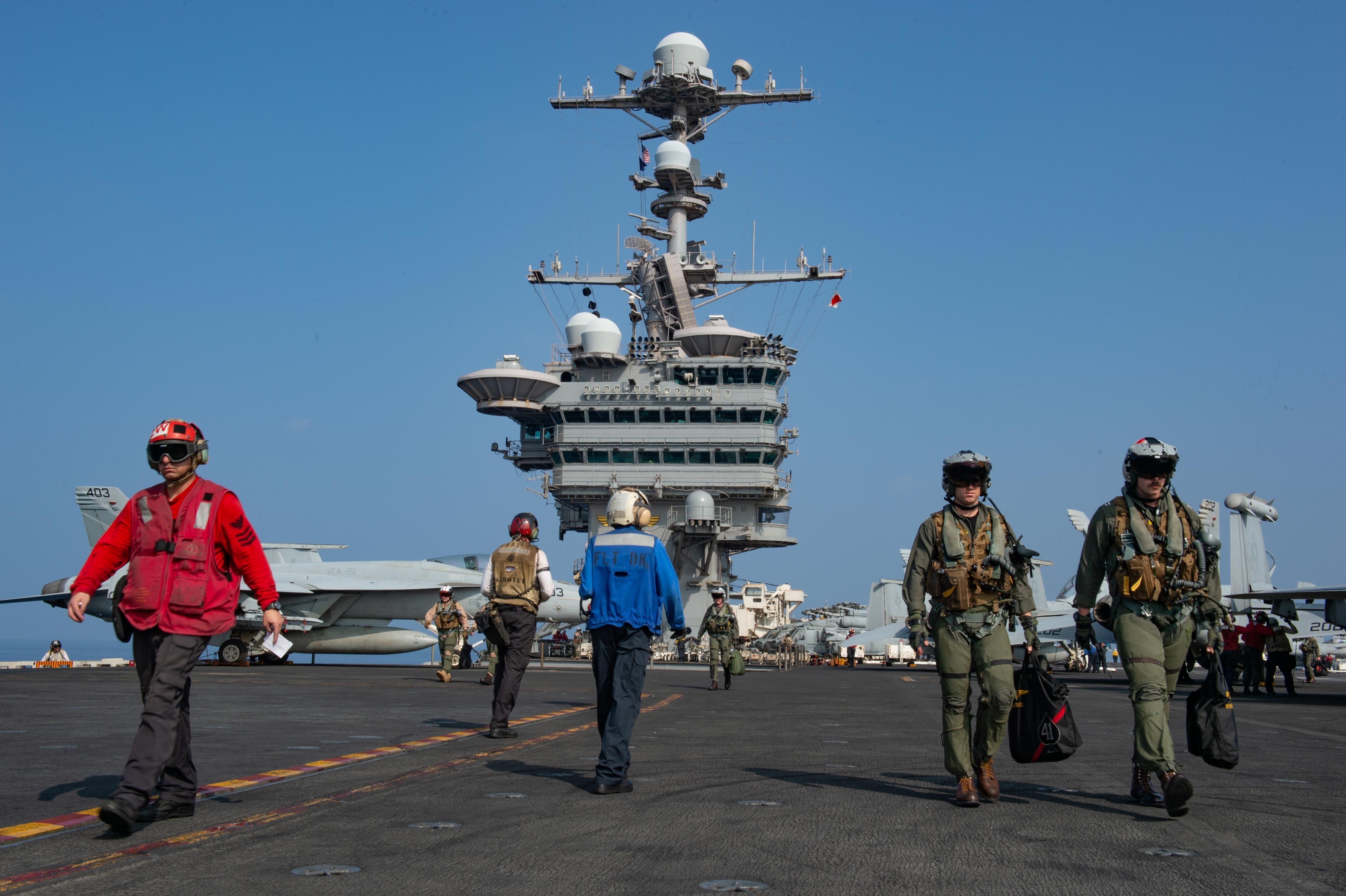 USNI News Fleet and Marine Tracker: Jan  28, 2019