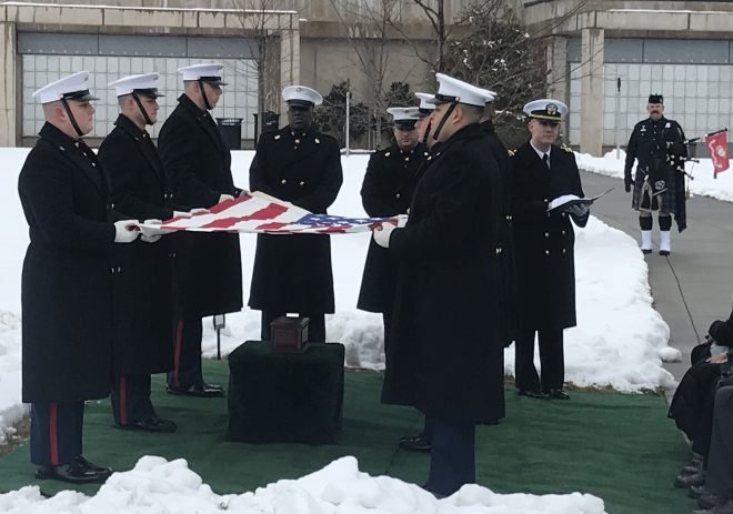 VIDEO: Marine, Actor R. Lee Ermey Buried in Arlington National Cemetery