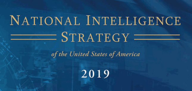 Document: U.S. National Intelligence Strategy 2019