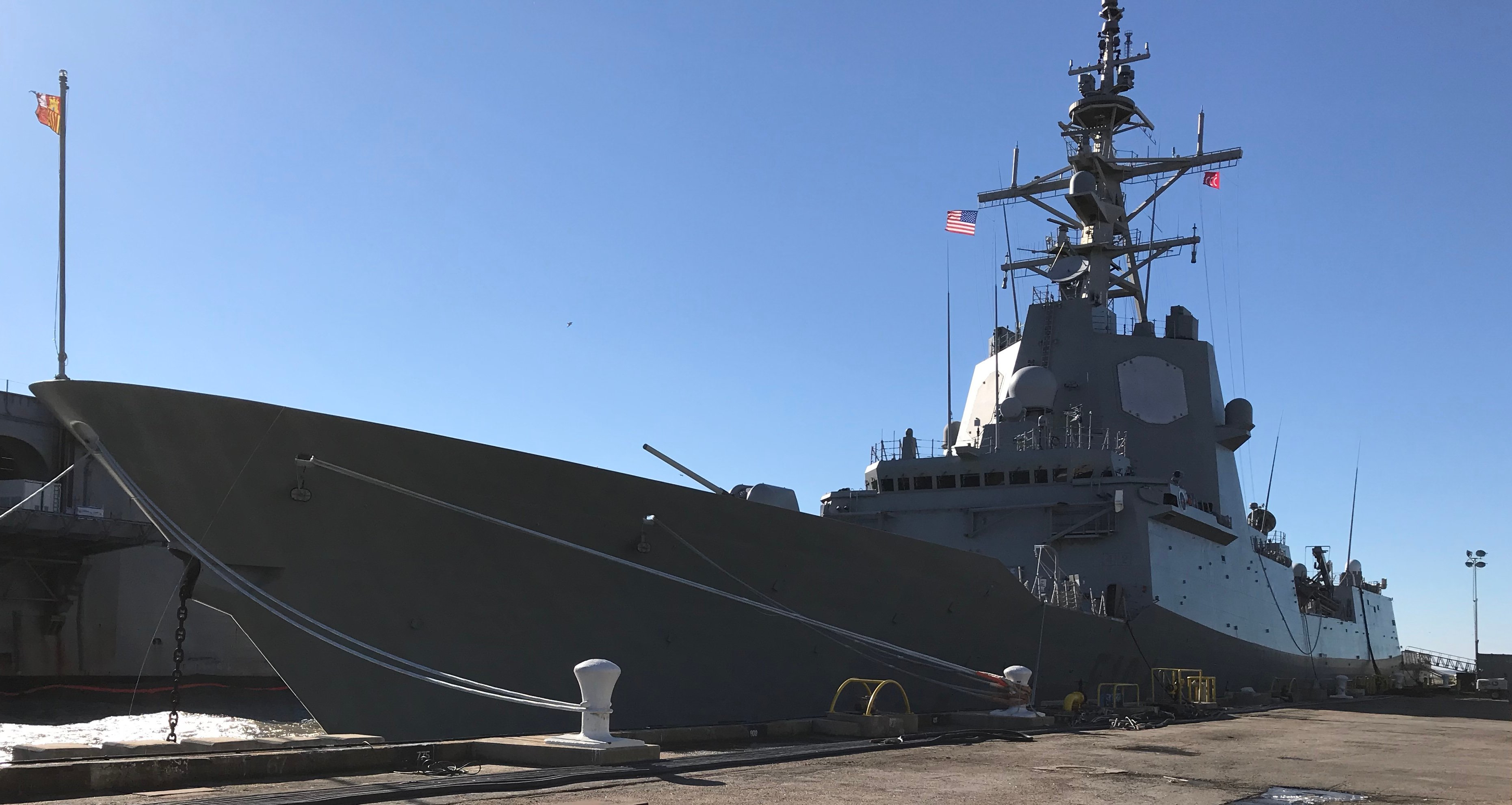 Spanish Shipbuilder Navantia Showcases F-100 Frigate Design