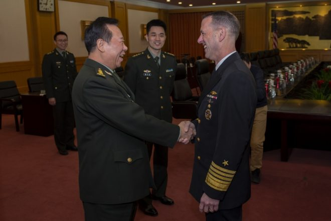 CNO: Consistency Is Key To Dealing With China