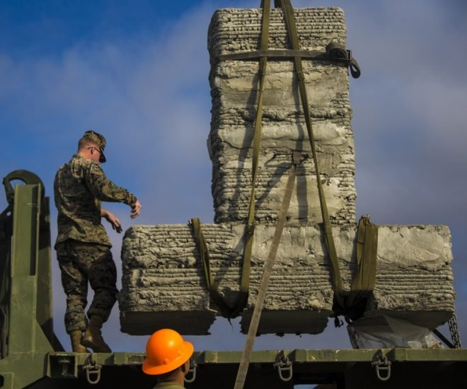 Marine Corps Tests Combat Engineering Applications Of 3D Printing