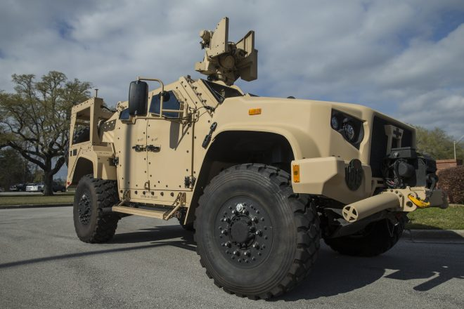 Marine Corps Fields First JLTV This Week; IOC Planned for July