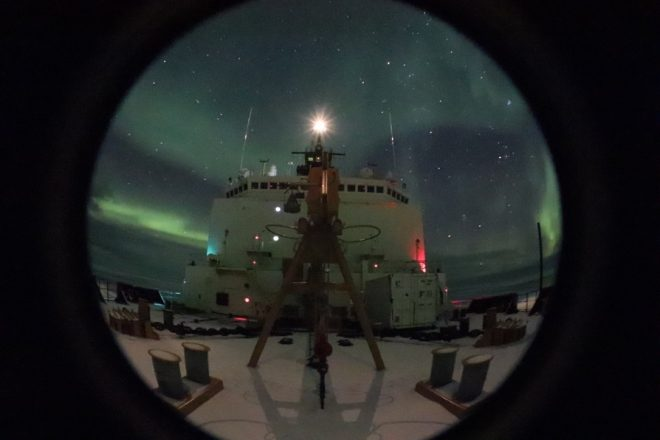 Coast Guard Icebreaker Healy Suffers Fire on Arctic Mission; All Arctic Operations Cancelled