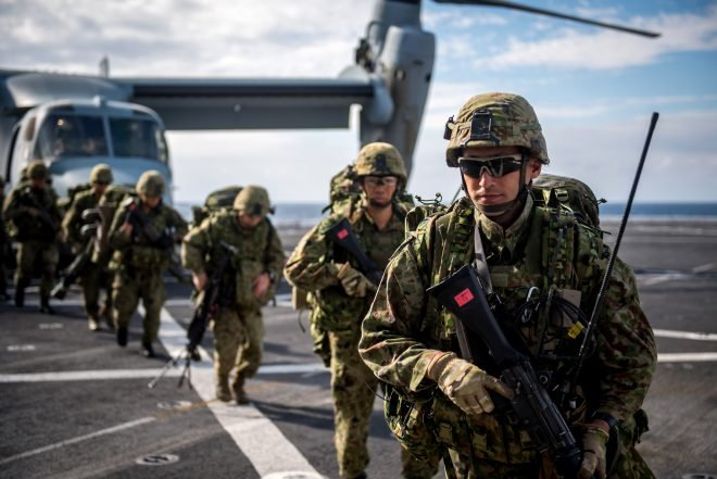 VIDEO: Japan Certifies First Regimental Landing Team in Exercise with U.S. Marines