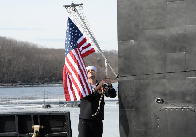 VIDEO: Attack Boat USS South Dakota Commissions
