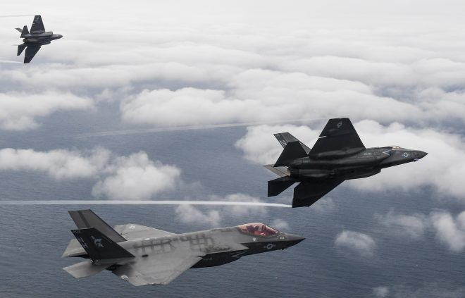 Navy Declares Initial Operational Capability for F-35C Joint Strike Fighter