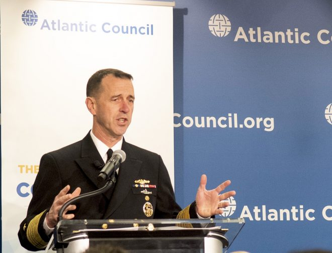 CNO Richardson Calls for Tougher Actions in Gray Zone Conflicts with Russia, China