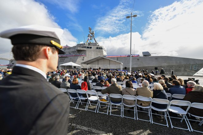 VIDEO: USS Tulsa Commissioning Ceremony
