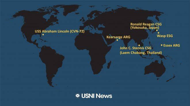 USNI News Fleet and Marine Tracker: Feb. 11, 2019