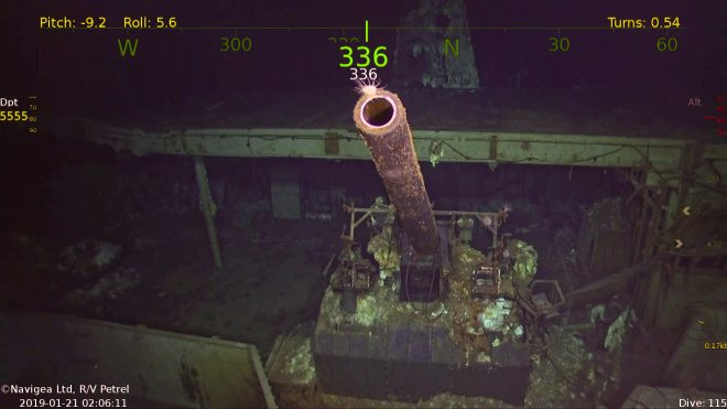 WWII Aircraft Carrier USS Hornet Discovered in Solomon Islands