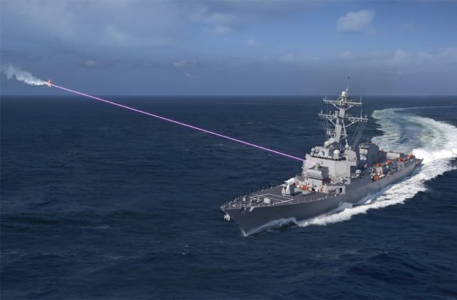 Navy Ready to 'Burn the Boats' with 2021 Laser Installation on a Destroyer
