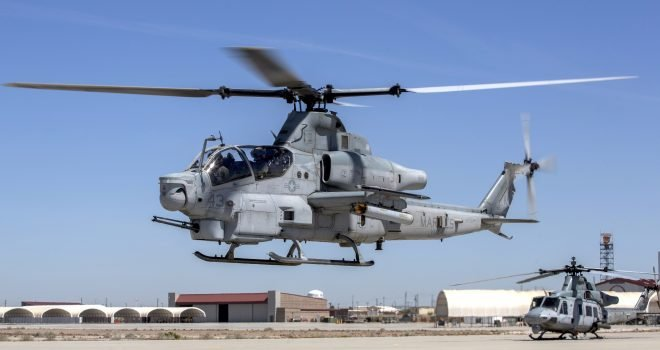 Two Marines Killed in Arizona Helicopter Crash During Training Mission