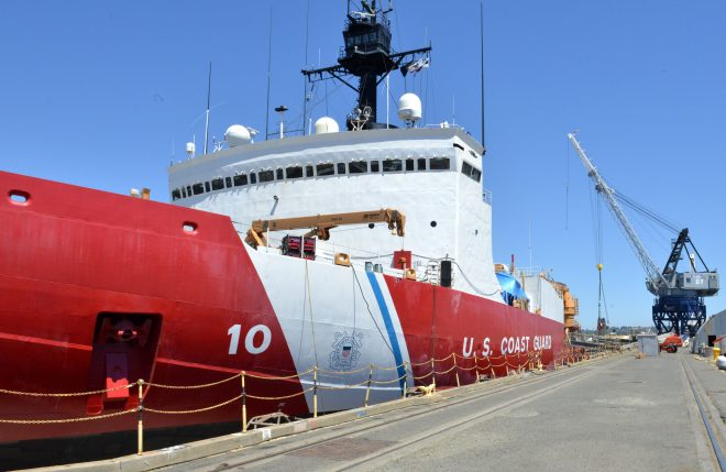 Coast Guard Budget Request Includes Funding To Keep Polar Security Cutter Program Moving