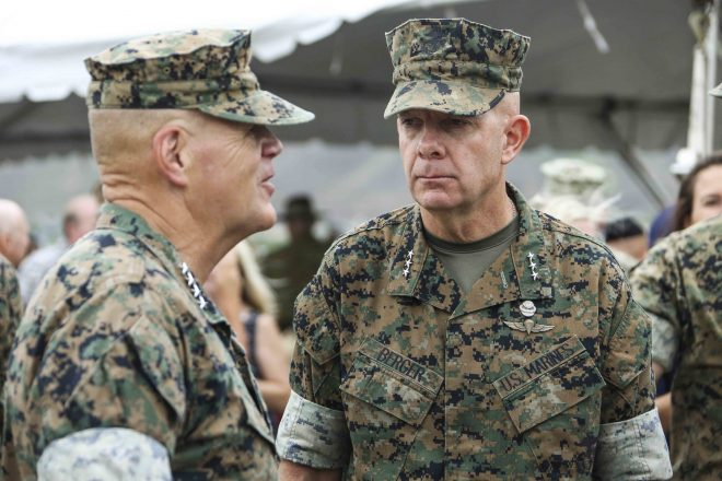 Lt. Gen. David Berger Nominated as Next Marine Corps Commandant