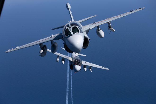 Marines Sundown Last EA-6B Prowler Squadron