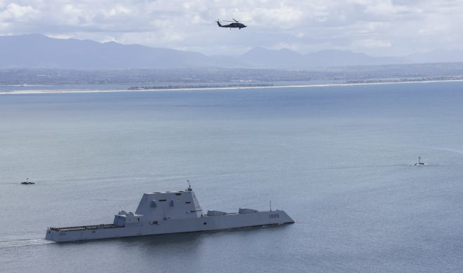 Destroyer USS Zumwalt Headed to Canada as Part of First 'Operational Underway'