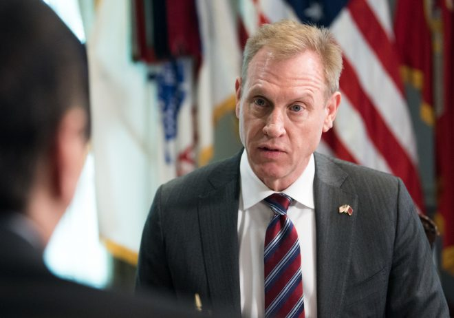 Acting SECDEF Shanahan Defends Truman Carrier Cut to Senate Panel